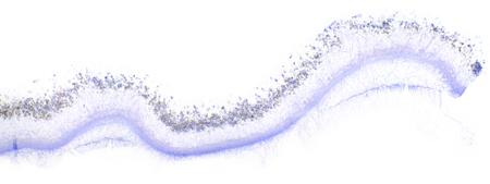 penicillium: Penicillin under the microscope, (Penicillium W.M). Full HD 100x
