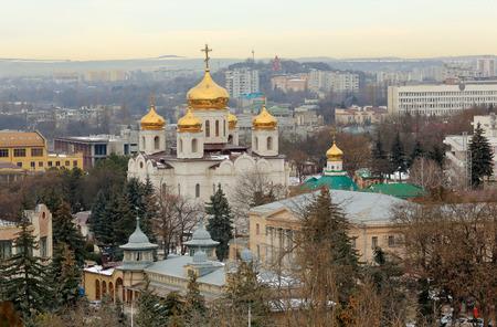 saviour: Saviour Cathedral in the city of Pyatigorsk, Stavropol Krai, Russia.