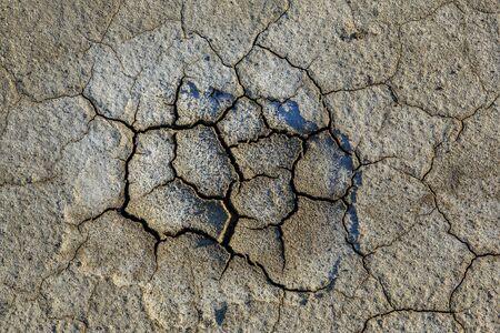 Texture of dry desert, a background  Фото со стока