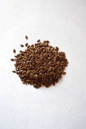 Handful of flaxseed