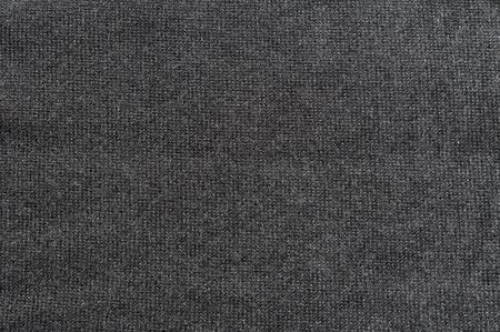 Close up of dark grey jersey fabric