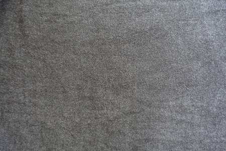 Plain simple gray jersey fabric from above