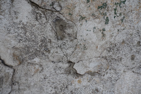exasperate: Surface of old weathered cracked plastered wall