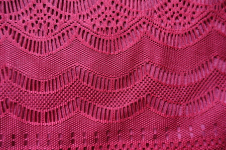 Lace with geometric pattern directly from above Banco de Imagens