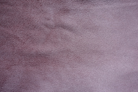 Dusty rose artificial suede fabric surface from above Foto de archivo