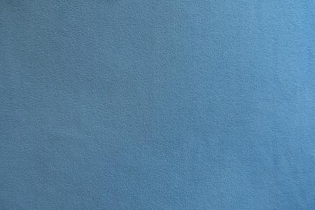 Light blue polar fleece fabric from above Stock Photo
