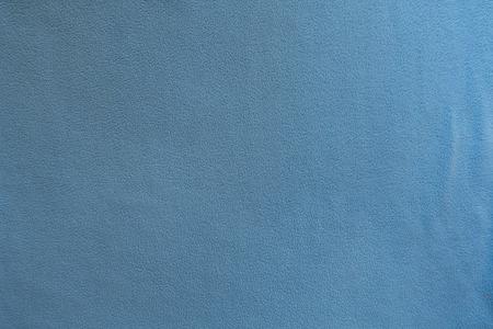 Surface of sky blue polar fleece fabric