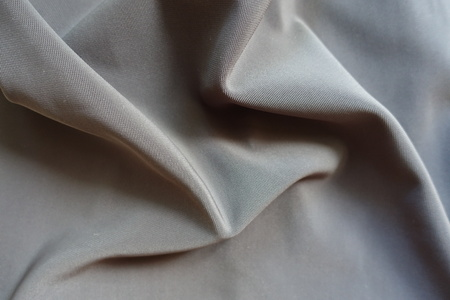 Crumpled dark grey viscose, cotton and polyester fabric Stok Fotoğraf