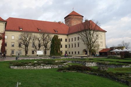 Ruins of St. Michaels Chapel at Wawel Castle