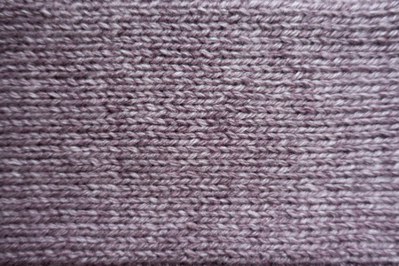 Closeup Of Puce Stocking Stitch Knitted Fabric Stock Photo Picture