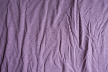 Texture of jammed pink viscose fabric from above Stok Fotoğraf