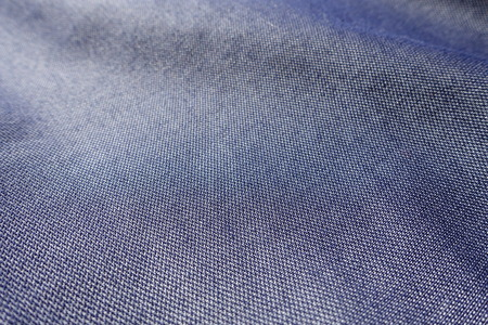 Close view of thin blue jeans fabric Stok Fotoğraf