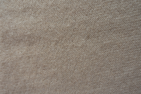 Back of simple knitted fabric from above Stock Photo