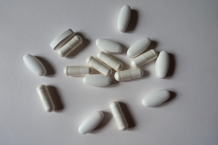 Caplets of calcium citrate and capsules of magnesium citrate from above