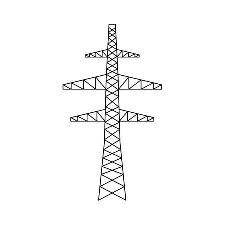 power grid icon vector