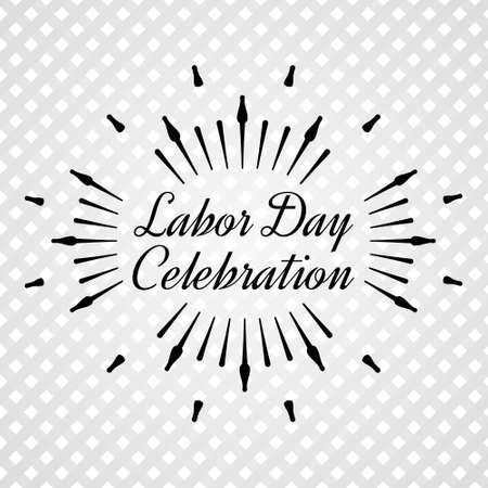 burst background: Black Sun Burst. Labor Day a national holiday of the United States. American Labor Day Celebration.