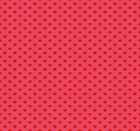 amur: Happy Valentines Day Pattern with hearts. Vector illustration. Illustration
