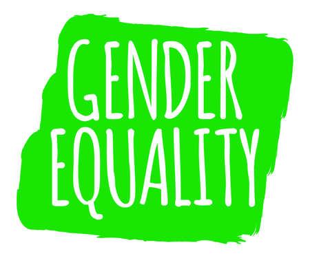 Gender Equality Banner.
