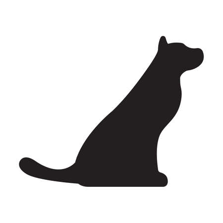 Dog Icon. Concept for Healthcare Medicine and Pet Care. Outline and Black Domestic Animal. Pets Symbol, Icon and Badge. Simple Vector illustration. Illustration