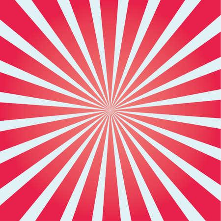 Bunte Sunburst-Symbol. Farbige Sonnenstrahlen Symbol, Label und Konzept. Cartoon-Vektor-Illustration und Kunst.