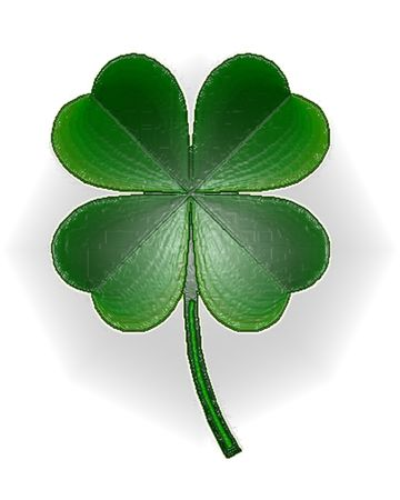 Plastic Shamrock Stock Photo - 761868