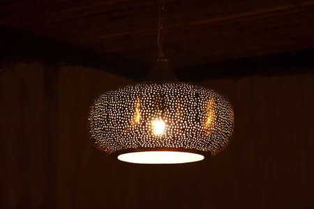 hanging lamp from roof