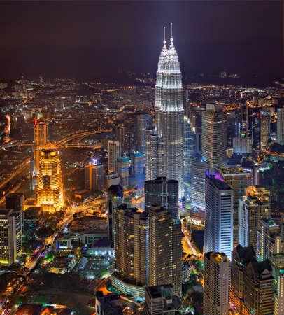 kuala lumpur city: Kuala Lumpur Skyline