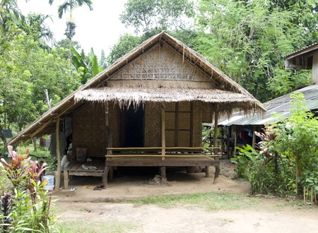 Asian style bungalow. Hut in the tropics. Stock Photo - 9926027