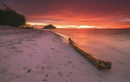 Sunset at Misool Island