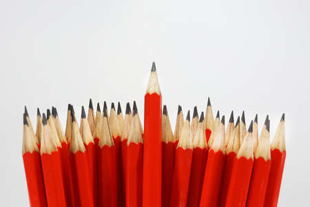 pencils red up