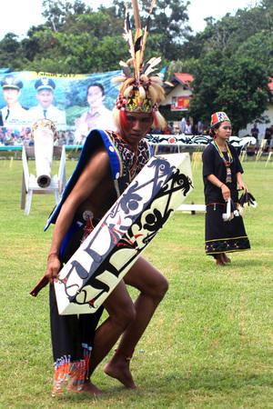 Traditional Dance Dayak
