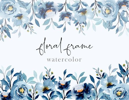 This picture uses watercolors. can be used as a decoration, wallpaper, background, wall decor, wedding invitation, greeting card, birthday and party Ilustración de vector