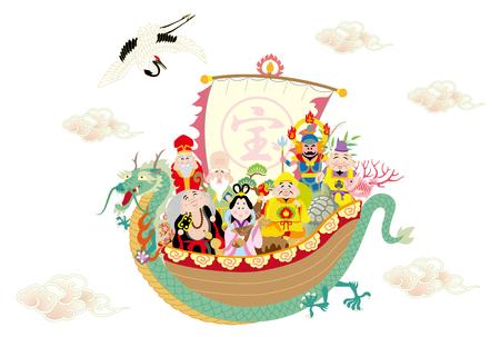 竜船七福神