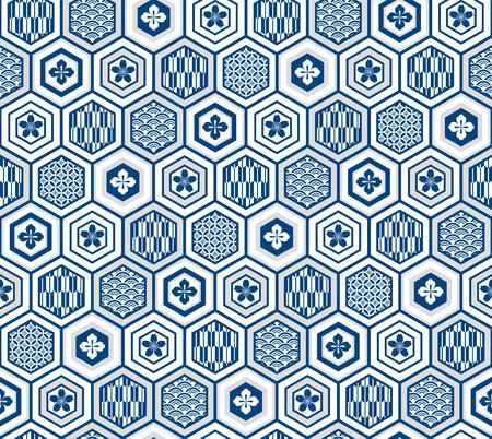 KIKKOU-Japanese traditional pattern