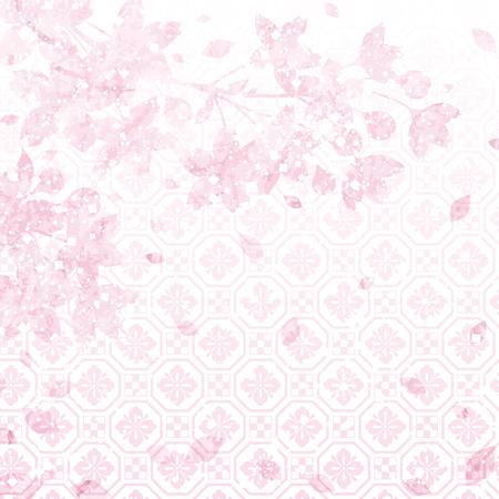SAKURA-cherry blossom background