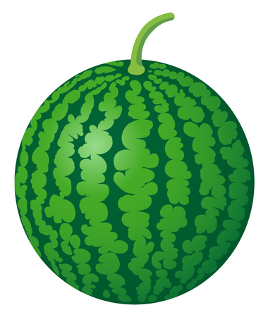 fresh watermelon, isolated on white background. Stok Fotoğraf - 117690690