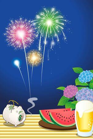 Summer in Japan Çizim