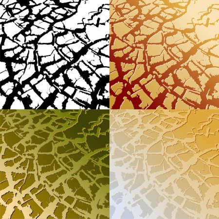 waterless: krakelur Illustration