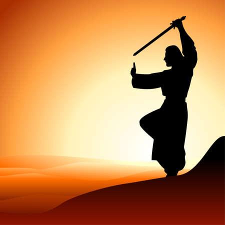 samourai: moine