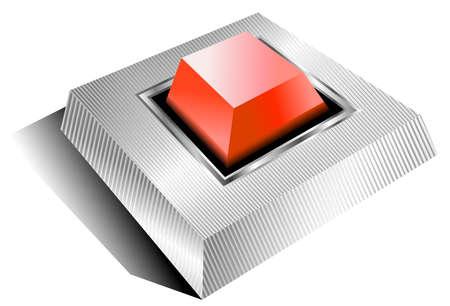 button Stock Vector - 4998898