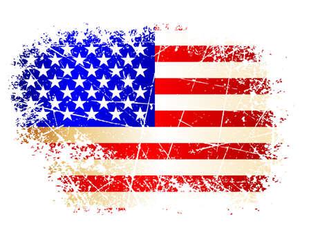Bandera de EE.UU. Foto de archivo - 5019026