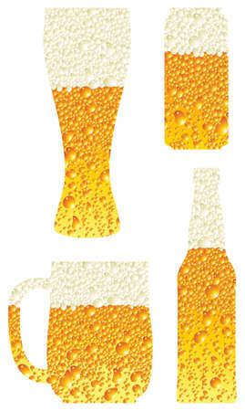 beer glass Stock Vector - 5019057