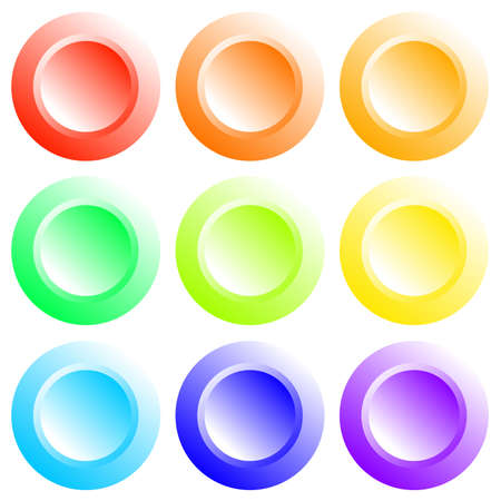 buttons Stock Vector - 5019038
