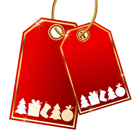 cristmas tags Vector