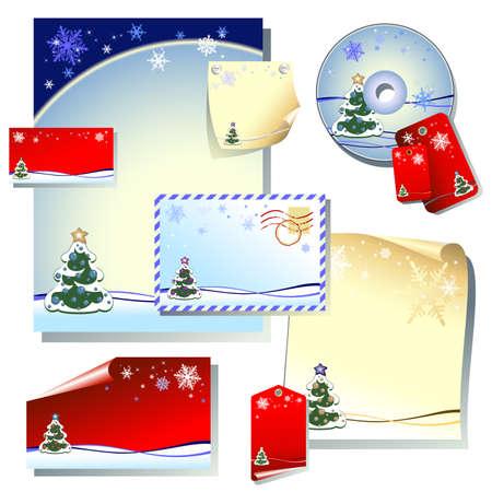 christmas elements Stock Vector - 5038813