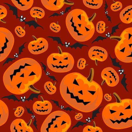 seamless halloween Vector