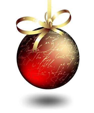 christmas boll Vector
