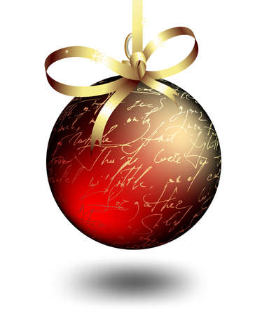 weihnachten: christmas boll