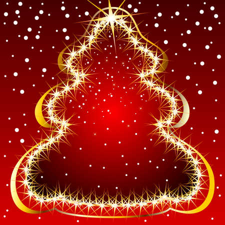 christmas fir Stock Vector - 5066850