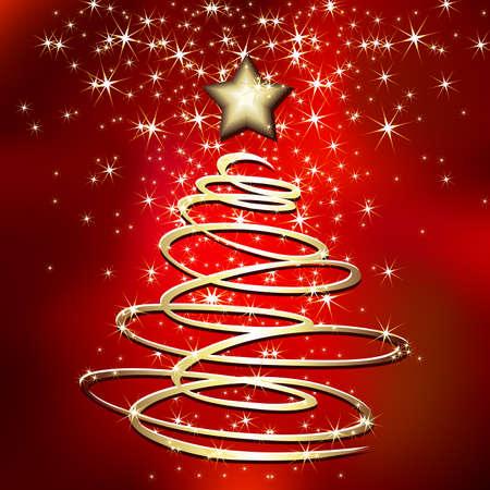 weihnachten tanne: Weihnachten-Tanne Illustration